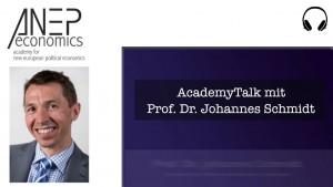 AcademyTalk mit Prof. Dr. Johannes Schmidt über Wolfgang Stützels Werk