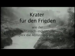 Krater für den Frieden