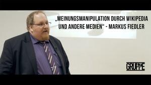"""Gruppe42 zeigt: Markus Fiedler über """"Meinungsmanipulation durch Wikipedia und andere Medien"""""""