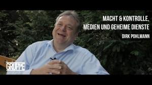 """Dirk Pohlmann über """"Macht&Kontrolle, Medien und geheime Dienste"""""""