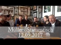 Müllers Stammtisch aus der Ständigen Vertretung in Berlin, 12.09.2017