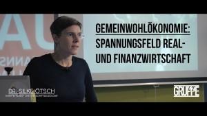 """Silke Ötsch über """"Spannungsfeld Real- und Finanzwirtschaft"""""""