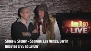 19 Uhr! NuoViso LIVE – Stone&Stoner – Spanien – Las Vegas – Berlin
