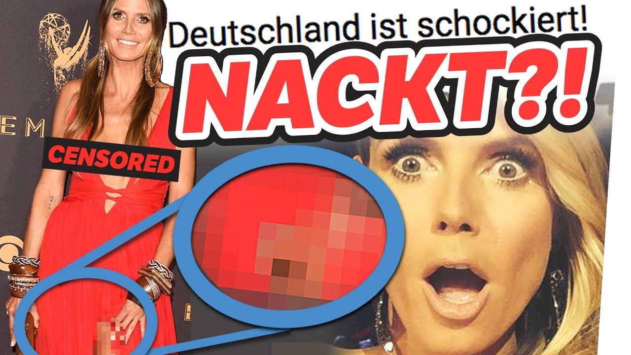 Heidi Klum Nackt Unzensiert