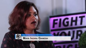 "Interview mit Maya Ganesh: ""How are we seen through Machines?"" (mit deutschen Untertiteln)"