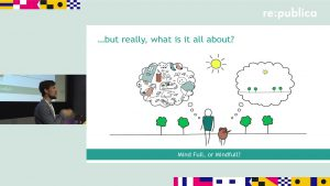 re:connecting Europe 2017 – Jan-Philipp Martini: Avoid the digital trap. Try Mindfulness.