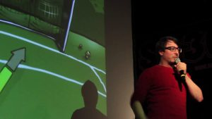 'Fingerprints of Black Holes' – Claudio Paganini at the #48 Science Slam Berlin
