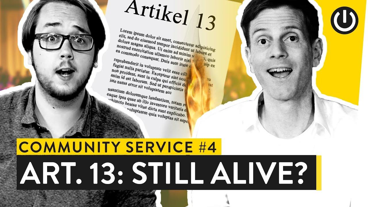 Artikel 13 Abgelehnt