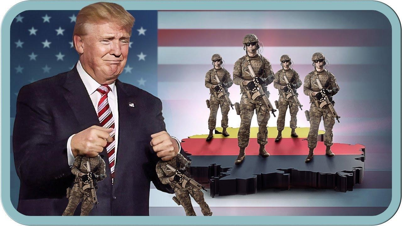 Us Soldaten Landen In Deutschland