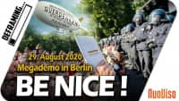Be nice! – Großdemo am 29. August