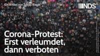 Corona-Protest: Erst verleumdet, dann verboten | Tobias Riegel | NachDenkSeiten-Podcast | 27.08.2020