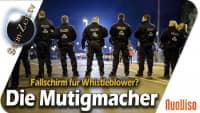 Fallschirm für Whistleblower –  Polizist Bernd Bayerlein & Hardy Groeneveld im Gespräch