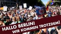 Hallo Berlin! Wir kommen trotzdem!