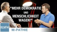M-PATHIE: Markus Haintz und Friederike Pfeiffer-de Bruin – Mehr Demokratie und Menschlichkeit wagen!