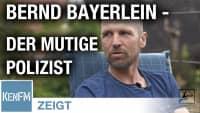 """Polizist Bernd Bayerlein: """"Achtung, Achtung, hier spricht die Polizei!"""""""