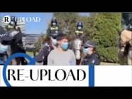 """RUBIKON: Re-Upload: """"Verhaftung aufgrund von Maskenverweigerung auf offener Straße"""""""