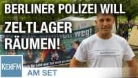 Warm Up der Berliner Polizei? Querdenken – Zelte müssen im Berliner Tiergarten abgebaut werden!