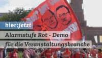 #Alarmstuferot Großdemo in Berlin für die Rettung der Veranstaltungsbranche