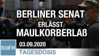 Berliner Senat erlässt Maulkorberlass | Von Bernhard Loyen