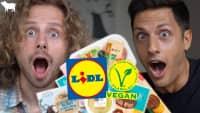 Der große vegane Food Haul bei Lidl