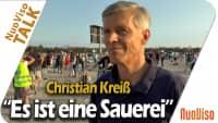 """""""Es ist eine Sauerei"""" – Christian Kreiß"""