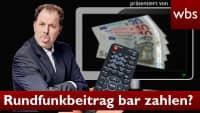 GEZ Trick: Rundfunkbeitrag in bar bezahlen?   Anwalt Christian Solmecke