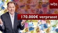Nach Fehlüberweisung: Mann verprasst 170.000 Euro | Rechtsanwalt Christian Solmecke