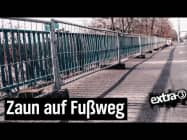 Realer Irrsinn: Bauzaun auf Brücke in Berlin-Spandau | extra 3 | NDR