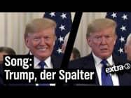 Song für Donald Trump: Gespaltenes Land | extra 3 | NDR