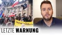 Sturm auf den REICHSTAG: Die SCHANDE von Berlin
