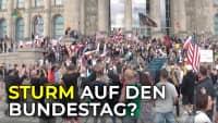 Sturm auf Reichstagsgebäude – Demo behindert und aufgelöst | Das 3. Jahrtausend SPEZIAL