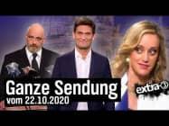 Extra 3 vom 22.10.2020 mit Christian Ehring im Ersten   extra 3   NDR