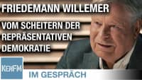 """Im Gespräch: Friedemann Willemer (""""Vom Scheitern der repräsentativen Demokratie"""")"""