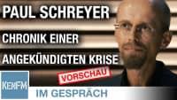 """Im Gespräch: Paul Schreyer (""""Chronik einer angekündigten Krise"""")"""