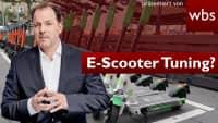 Pimp my E-Scooter: km/h-Tuning legal? | Rechtsanwalt Christian Solmecke
