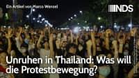 Unruhen in Thailand: Was will die Protestbewegung? | Jinthana Sunthorn | NachDenkSeiten-Podcast