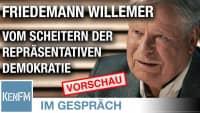 """Vorschau! Im Gespräch: Friedemann Willemer (""""Vom Scheitern der repräsentativen Demokratie"""")"""