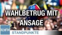 Wahlbetrug mit Ansage | Von Rüdiger Rauls