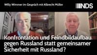 Willy Wimmer im Gespräch mit Albrecht Müller: Konfrontation mit Russland statt gemeins. Sicherheit?