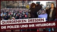 Querdenken Dresden: Polizei unterstellt Hitlergruß!