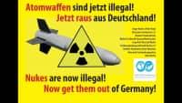 Am 22. Januar 2021 sagen wir: Atomwaffen sind jetzt illegal! Jetzt raus aus Deutschland!