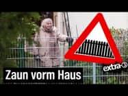 Realer Irrsinn: Die eingezäunte Dame in Bielefeld | extra 3 | NDR
