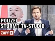 Belarus: Wenn die Polizei das TV-Studio stürmt   ZAPP   NDR
