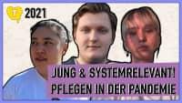 Flokati Beach: Jung & systemrelevant – Pflegen in der Pandemie
