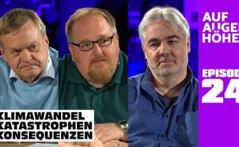 KLIMAWANDEL – KATASTROPHEN - KONSEQUENZEN? mit Dirk Pohlmann, Markus Fiedler und Timm Herbst