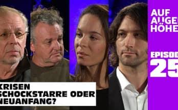 KRISEN - SCHOCKSTARRE ODER NEUANFANG? Nina Maleika, Marco Rima, Dieter Brandecker u. Justus Hoffmann