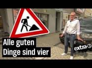 Realer Irrsinn: Mehrfach neugepflasterter Gehweg in Bielefeld | extra 3 | NDR