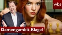 Sexismus in Netflix Hit? Teure Damengambit-Klage! | Anwalt Christian Solmecke